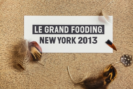 LE GRAND FOODING NEW YORK 2013